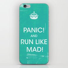 PANIC iPhone & iPod Skin