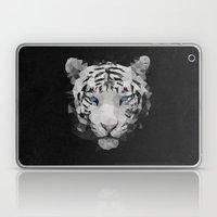 Meduzzle: White Tiger Laptop & iPad Skin