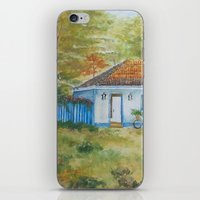 Country house iPhone & iPod Skin
