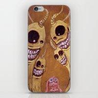 Intimidación iPhone & iPod Skin