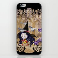 Walking to School iPhone & iPod Skin