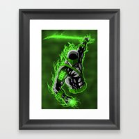 Snake Eyes GL Framed Art Print