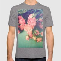 Garden Party Mens Fitted Tee Tri-Grey SMALL