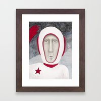 Greetings! Framed Art Print