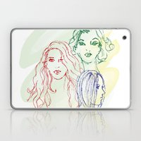 Girls Laptop & iPad Skin