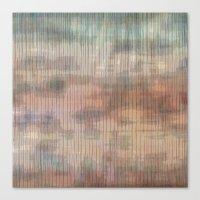 Colored landscape wicker Canvas Print