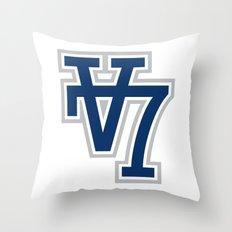V7 - Darkside Throw Pillow