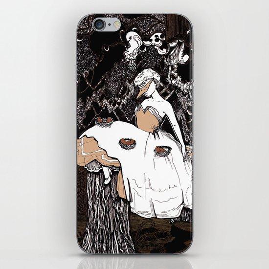 Lady & Birds 2 iPhone & iPod Skin