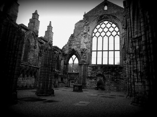 Holyrood Abbey Art Print