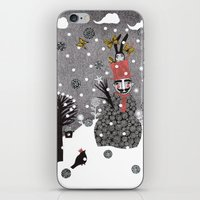 Snow Magician iPhone & iPod Skin
