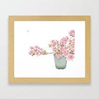 Heavenly Blossom #2 Framed Art Print