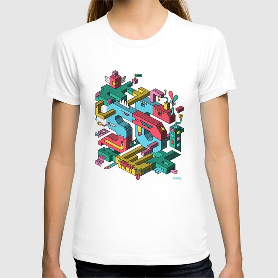 Font of all Known Ledges T-shirt