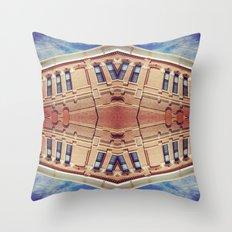 Building Center Throw Pillow