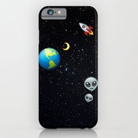 iPhone & iPod Case featuring Space Emoji by jajoão