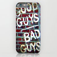 iPhone & iPod Case featuring Good Guys by Soulmaytz