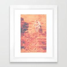 Cannon Ball Framed Art Print