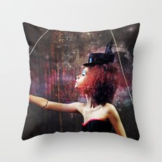 Marionette Magic 2 of 4 Throw Pillow