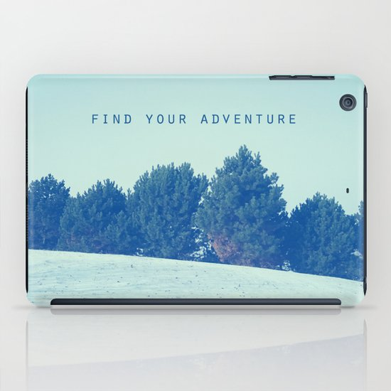 Find Your Adventure iPad Case