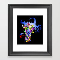 Ribbon Framed Art Print