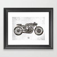 Racer Framed Art Print