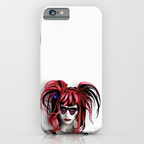 A Real Butterfly Girl iPhone & iPod Case