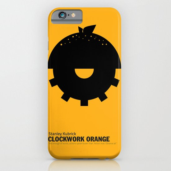 Clockwork Orange | Minimalist Movie Poster iPhone & iPod Case