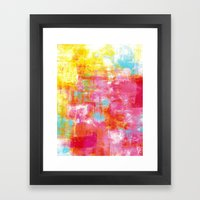 OFF THE GRID 2 Colorful … Framed Art Print