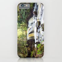 Upper Chapel Falls at Pictured Rocks National Lakeshore - Michigan iPhone 6 Slim Case