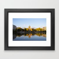 Engelbecken - Berlin Framed Art Print