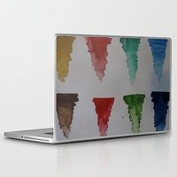 watercolour Laptop & iPad Skins featuring Watercolour by Crimson-daisies