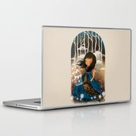 Laptop & iPad Skin featuring There Once Was A Girl In… by Dan Elijah G. Fajard…