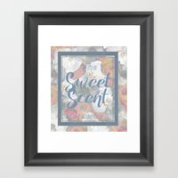 The Sweet Scent of Spring Framed Art Print