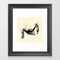 In Search Of Beauty (Cir… Framed Art Print