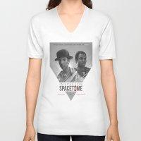 Inspector Spacetime  Unisex V-Neck