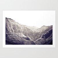 The Valley Art Print