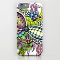 Bright Ornate Fantasy Flower Bouquet iPhone & iPod Case
