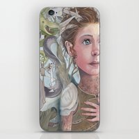 Horns and Armor iPhone & iPod Skin