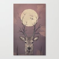 Deer Soul Canvas Print