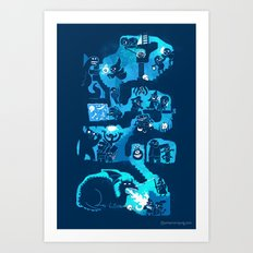 Dungeon Crawlers Art Print