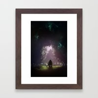 Feel Lonesome Framed Art Print