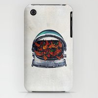 iPhone 3Gs & iPhone 3G Cases featuring Within (helmet) by Seamless