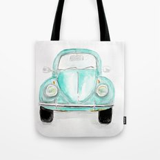 VW Beetle - Watercolor Tote Bag