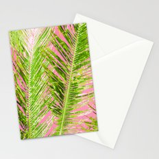 Tropical Palm Pink Green Stationery Cards