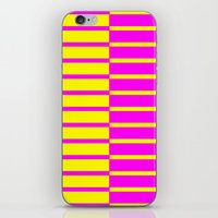 Canary Zebra Plays Piano iPhone & iPod Skin
