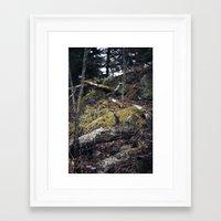 overgrown. Framed Art Print