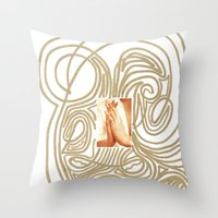 Hands... Throw Pillow