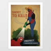 Protect Your Garden Art Print