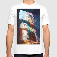 Dragons SMALL Mens Fitted Tee White