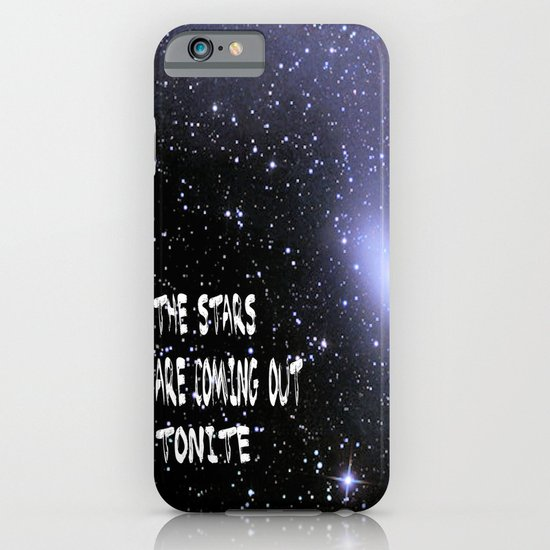 the stars are coming out tonite  U.S. iPhone & iPod Case