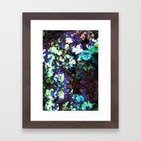 FLORAL WATERS Framed Art Print